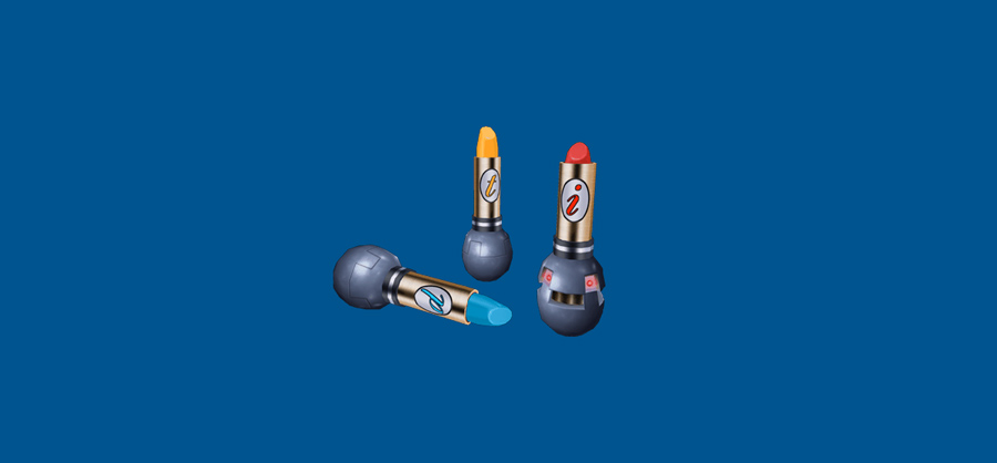 Explosive Lipsticks