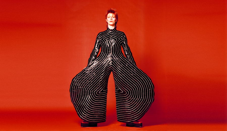 David Bowie's Stripped Body Suit