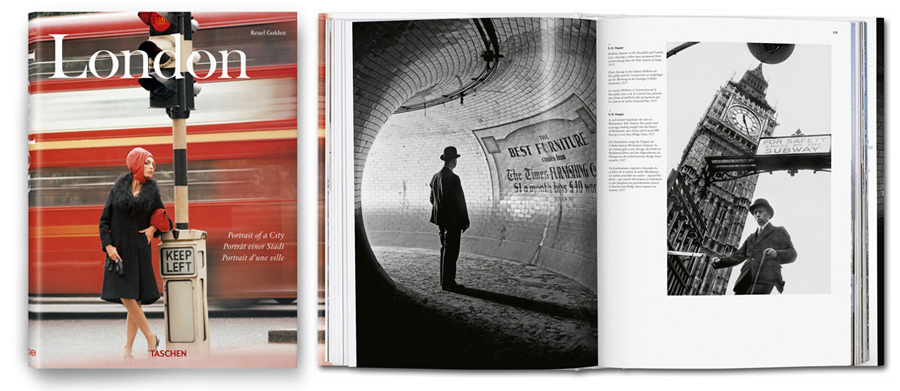 Tachen London Book Cover and Inner Pages