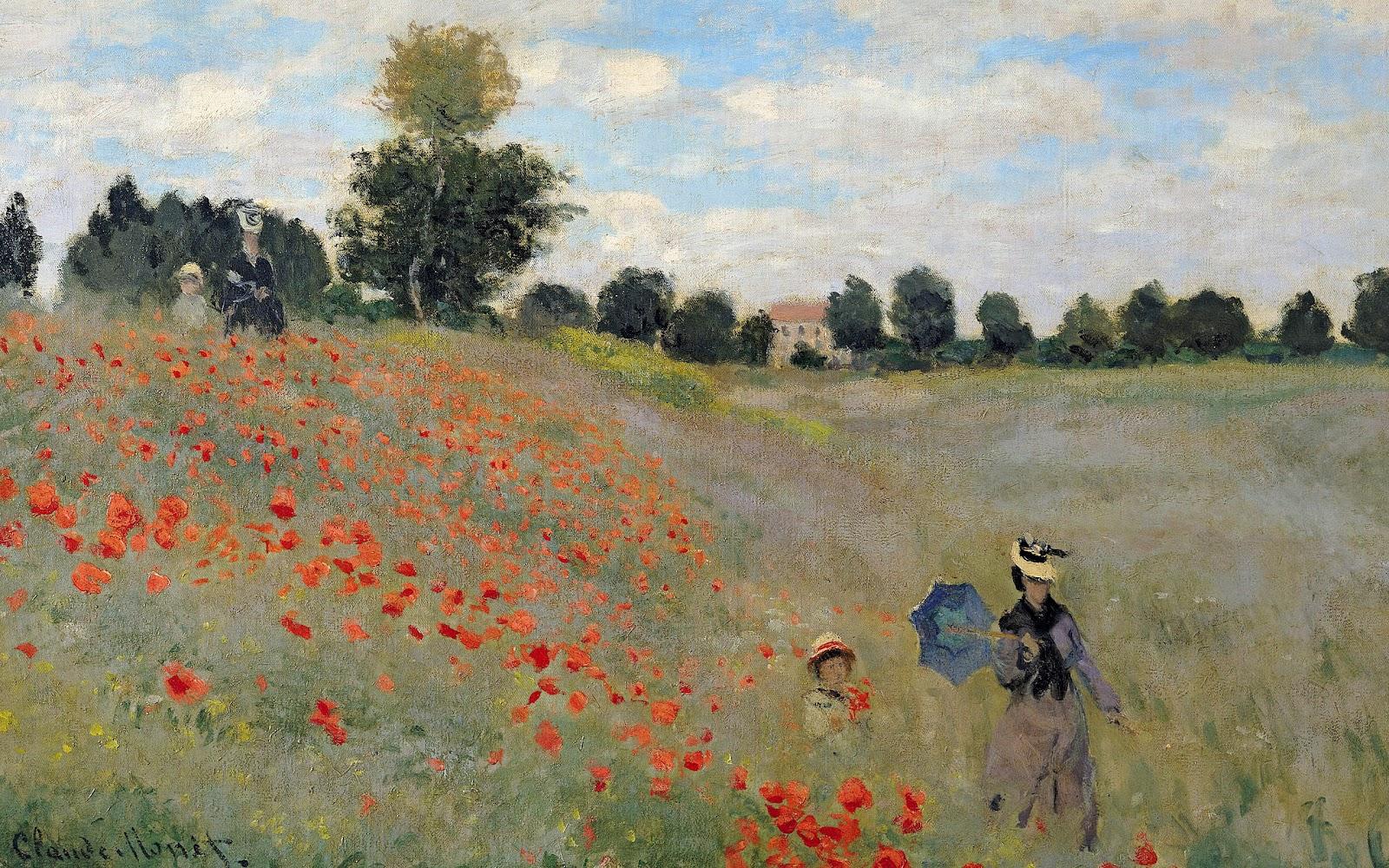 Monet-poppies