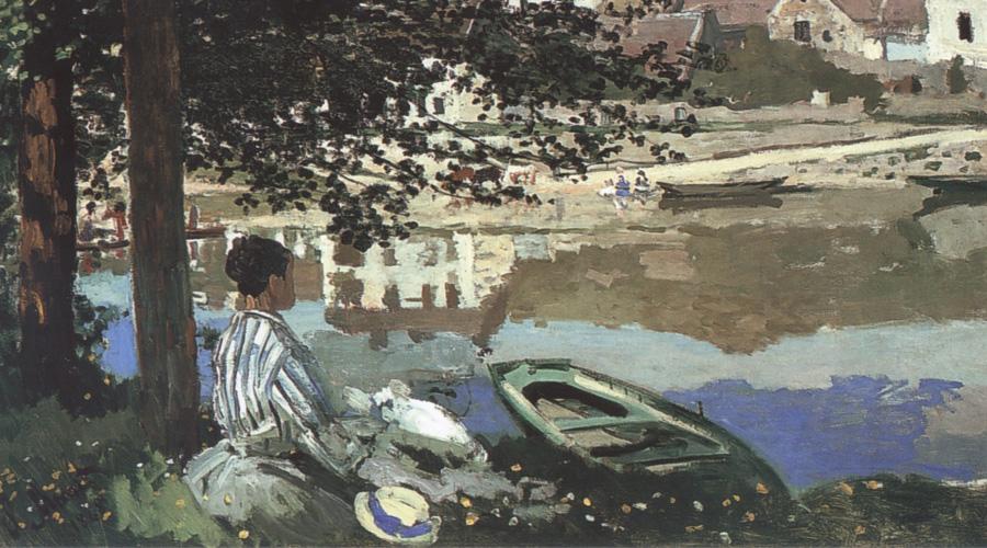 Monet Riverscene at Bennecourt