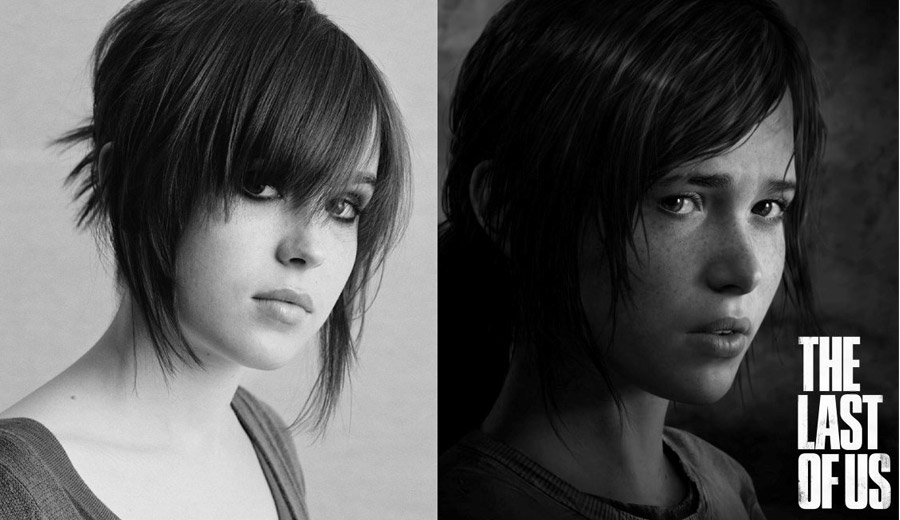 Ellen Page vs Ellie