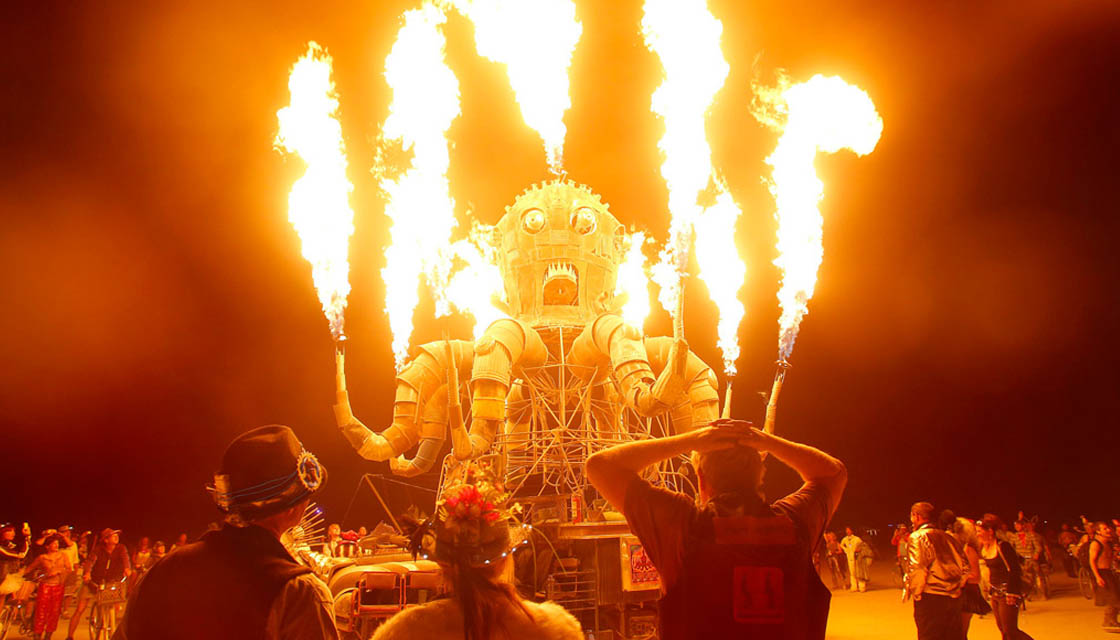 Eyewitness: Burning Man festival, Nevada