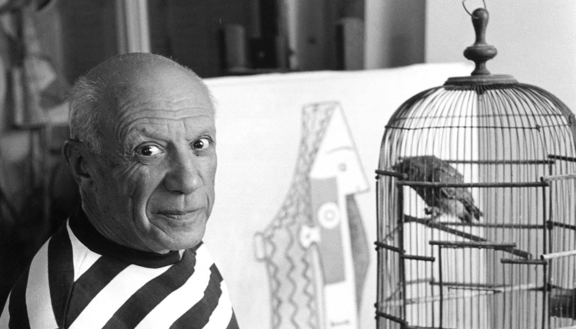 Rene Burri Picasso