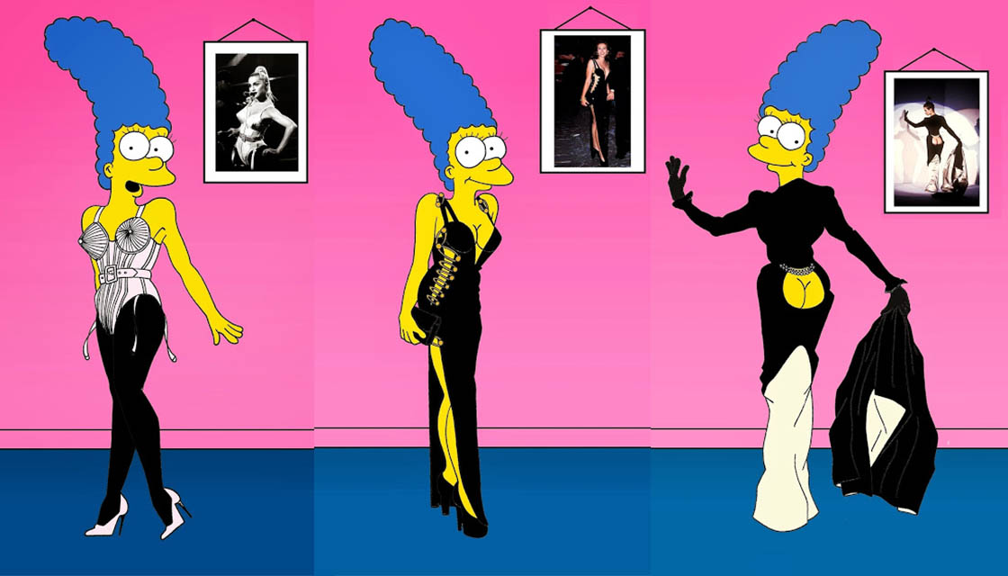 Marge Simpson by Alexandro Palombo 4