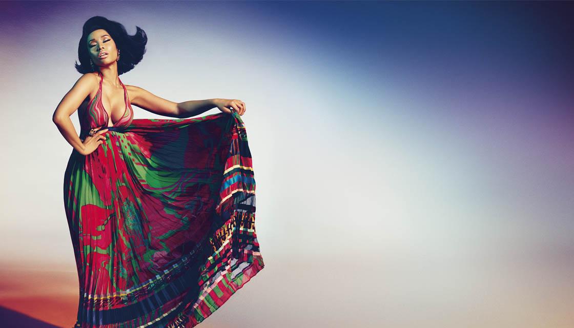 Nicki Minaj Roberto Cavalli 2