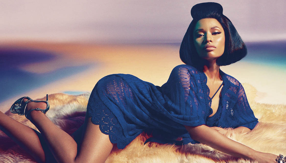 Nicki Minaj forRoberto Cavalli 5