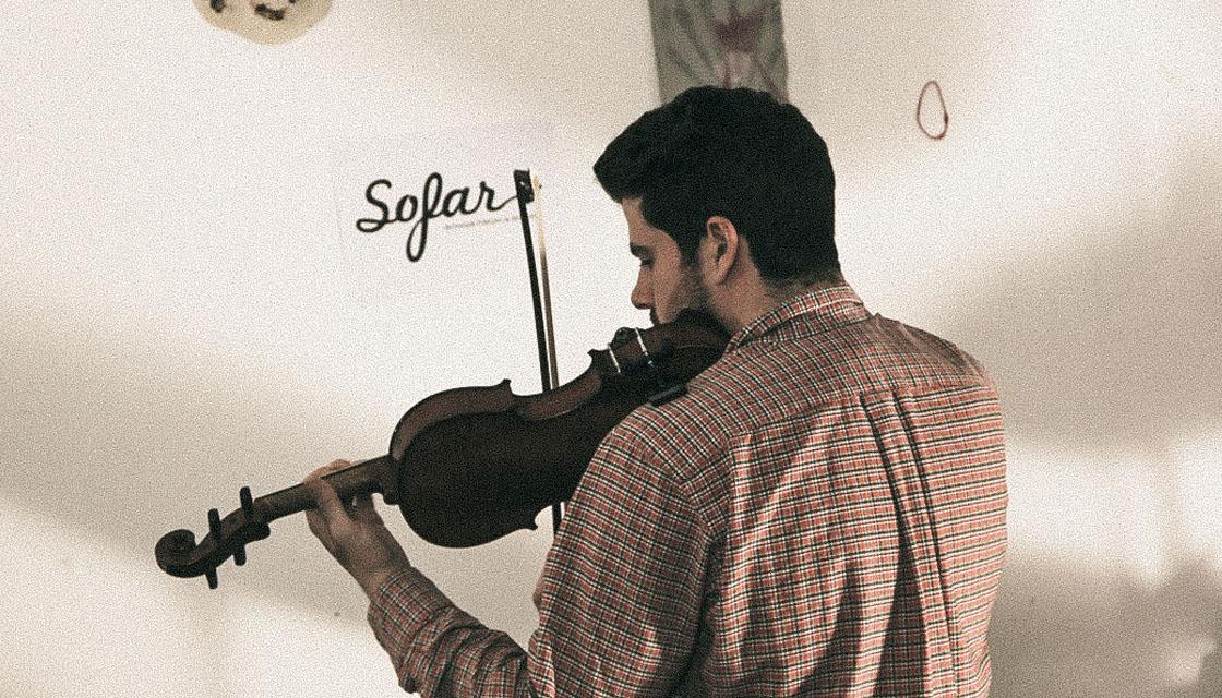 Sofar Munich Dancing Years Violin