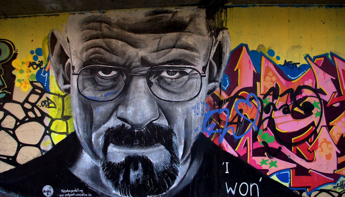 Breaking Bad Street Art 1