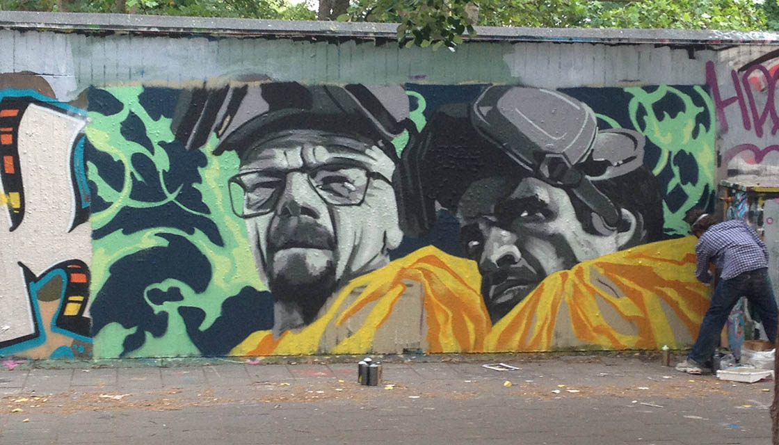 Breaking Bad Street Art 11