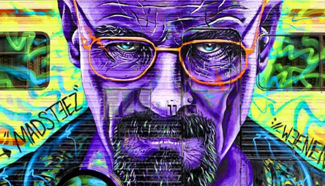 Breaking Bad Street Art 12