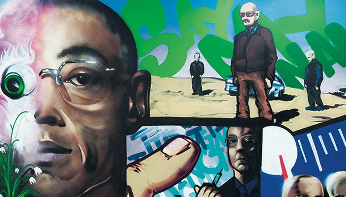 Breaking Bad Street Art 4