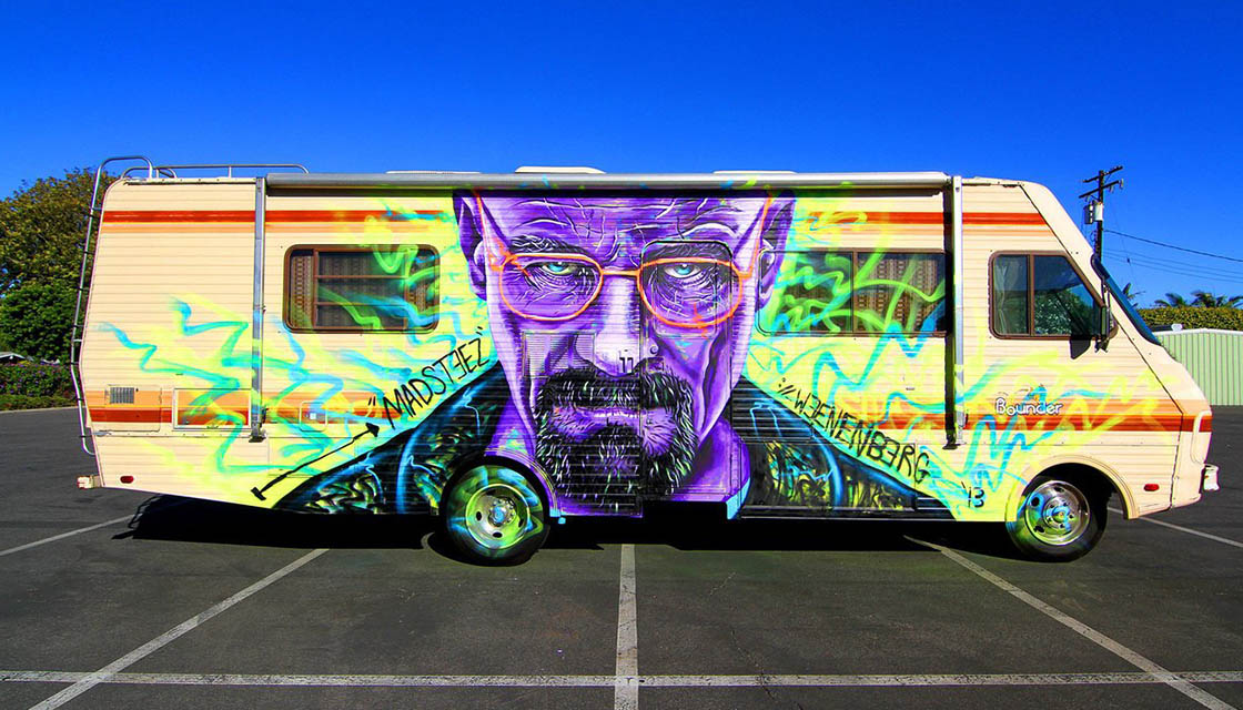 Breaking Bad Street Art 7