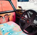 Takside Sanat: Taxi Fabric
