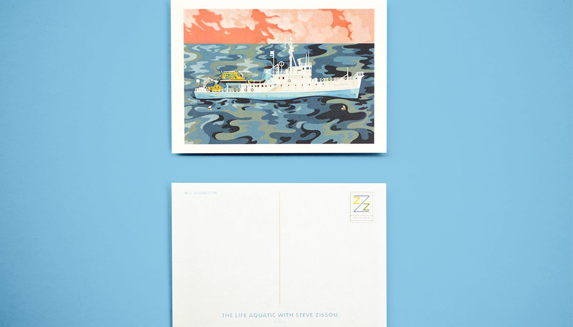 wes anderson postcards 3